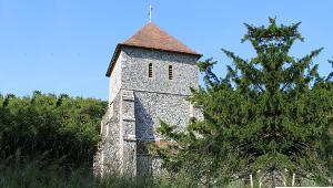 St Anthony's Church Alkham in Kent